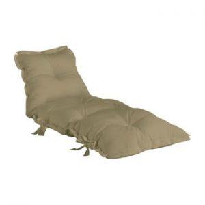 Futon extensibil adecvat pentru exterior Karup Design OUT™ Sit&Sleep Beige, bej