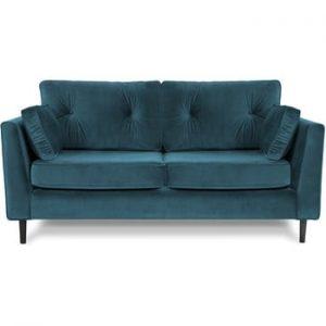 Canapea cu trei locuri VIVONITA Portobello, albastru deschis