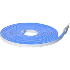 Sirag luminos pentru exterior Best Season Rope Light Flatneon, lungime 500 cm, albastru