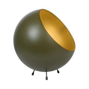 Veioza Leitmotiv Bell, verde kaki-auriu