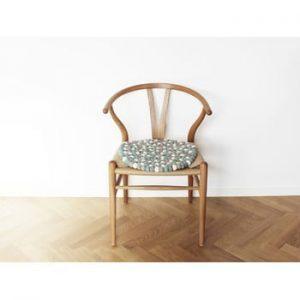 Perna pentru scaun, cu bile din lana Wooldot Ball Chair Pad, ⌀ 39 cm, albastru deschis