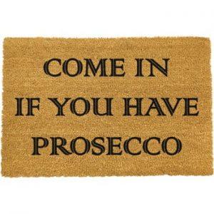 Covoras intrare din fibre de cocos Artsy Doormats Prosecco, 40 x 60 cm