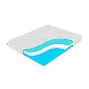 Saltea din spuma cu memorie, fermitate medie-rigida Enzio Ocean Support, 120 x 200 cm, inaltime 24 cm