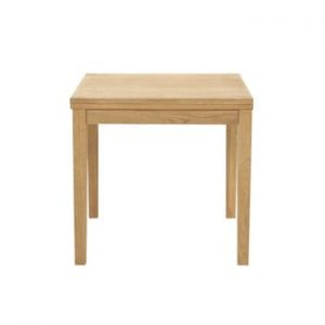 Masa extensibila cu baza din lemn de stejar Actona Jackson