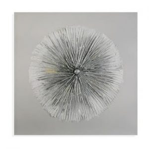 Tablou pe panza Versa Flores Sia, 60x60cm