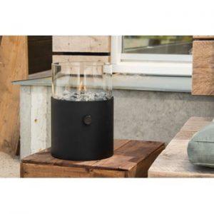 Lampa pe gaz Cosi Original, inaltime 30,5 cm, negru