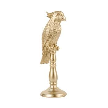 Statueta PT LIVING Cockatoo, inaltime 32 cm, galben