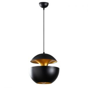 Lustra Opviq lights Berceste Round, negru