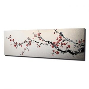 Tablou pe panza Sakura, 80 x 30 cm