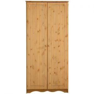Sifonier din lemn de pin masiv cu 2 usi Støraa Amanda, natural