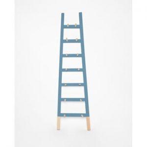 Cuier scara din lemn Surdic Azul, albastru