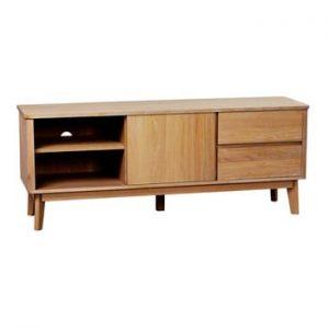Masa TV din lemn de stejar Yumi Rowico