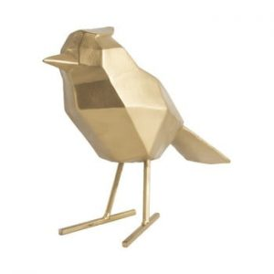Statueta PT LIVING Bird Large, auriu