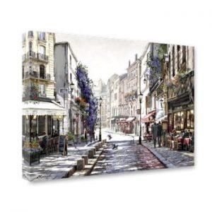 Tablou Styler Canvas Watercolor Paris II, 60 x 80 cm