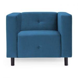 Fotoliu Vivonita Milo, albastru