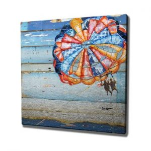 Tablou pe panza Parachute, 45 x 45 cm