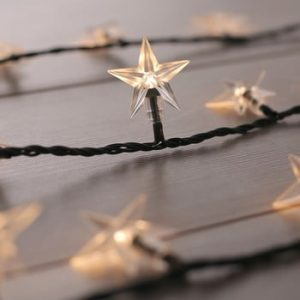 Lumini decorative DecoKing Star, lungime 12,5 m