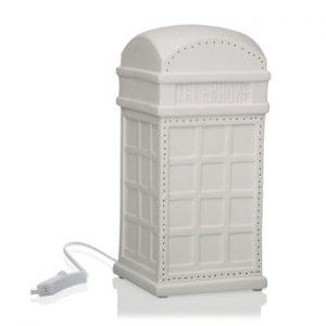 Veioza din portelan in forma de cabina telefonica Versa