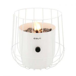 Lampa pe gaz Cosi Basket, inaltime 31 cm, alb