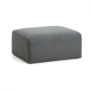 Taburet La Forma Blok, gri inchis
