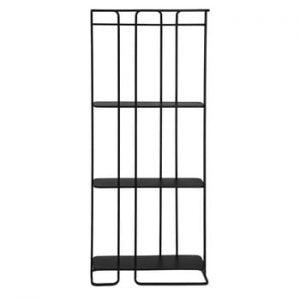 Raft La Forma Calen 72 x 167 cm, negru