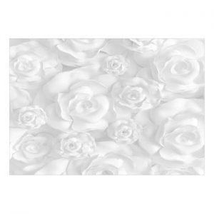 Tapet format mare Bimago Plaster Flowers, 400 x 280 cm
