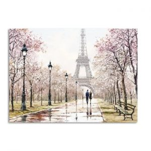 Tablou imprimat pe panza Styler Watercolor, 60 x 80 cm