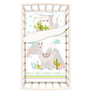 Lenjerie de pat din bumbac pentru copii Apolena Mirra Duro, 100 x 150 cm