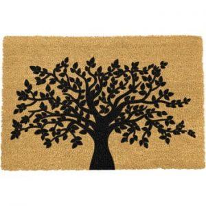 Covoras intrare din fibre de cocos Artsy Doormats Tree of Life, 40 x 60 cm