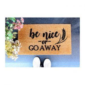 Pres Doormat Be Nice, 70 x 40 cm