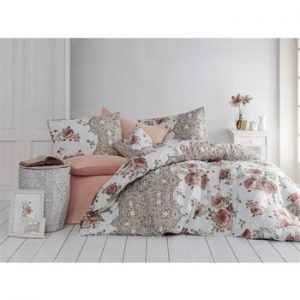 Lenjerie pentru pat de o persoana Flowers, 140 x 200 cm