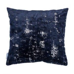 Perna Zuiver Sarona Vintage, 45 x 45 cm, albastru inchis