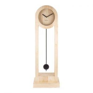 Ceas din lemn pentru podea Karlsson Lena, inaltime 100cm