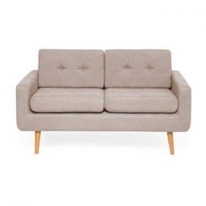 Canapea cu 2 locuri Vivonita Ina, bej