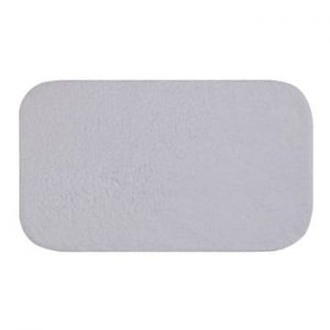Covoras de baie Confetti Bathmats Organic 1500, 50 x 85 cm, alb