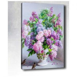 Tablou pe panza Tablo Center Lilacs, 40 x 60 cm