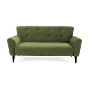 Canapea cu 3 locuri Vivonita Kiara, verde masliniu