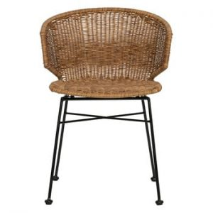 Set 2 scaune adecvate interior/exterior WOOOD Noor