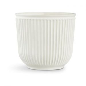 Ghiveci din ceramica Kähler Design Hammershoi Flowerpot, ⌀ 18 cm, alb