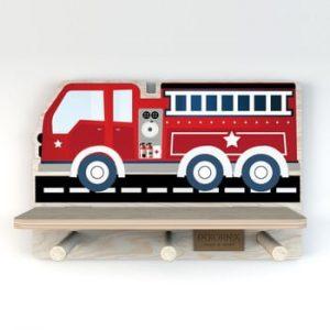 Raft de perete Dekornik, masina pompieri