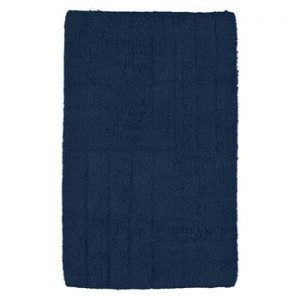 Covoras de baie Zone, 50 x 80 cm, albastru inchis