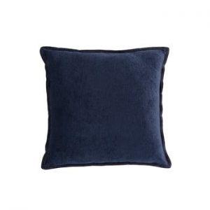Perna White Label Justin, 45 x 45 cm, albastru inchis