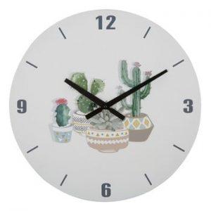 Ceas de perete Mauro Ferretti Orologio Cactus, ⌀ 38 cm