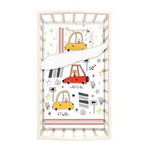 Lenjerie de pat din bumbac pentru copii Apolena Mirra Mito, 100 x 150 cm