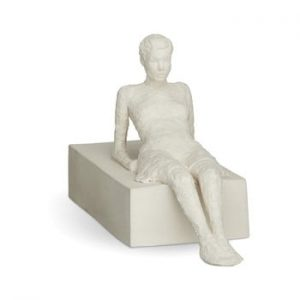 Statueta din ceramica Kähler Design Character The Attentive One