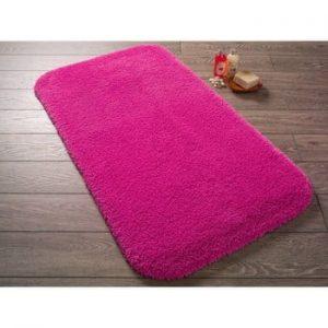Covoras de baie Confetti Bathmats Miami, 50 x 57 cm, roz fucsia