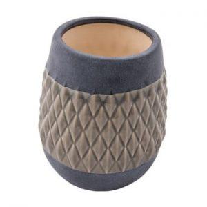 Vaza din ceramica Zuiver Nito Clay, latime 23 cm