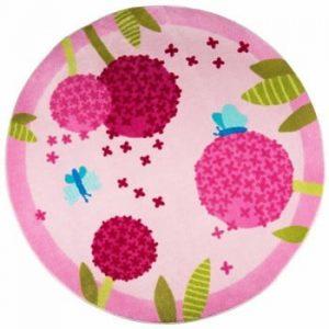 Covor pentru copii Polen Pink, ⌀ 133 cm