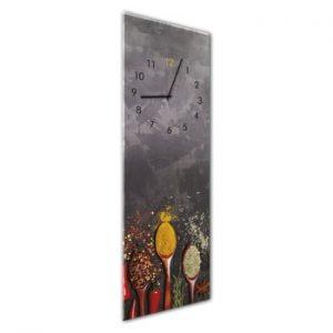 Ceas de perete Styler Glassclock Spoons, 20 x 60 cm
