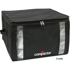 Cutie de depozitare cu vid pentru haine Compactor Black, 125 l